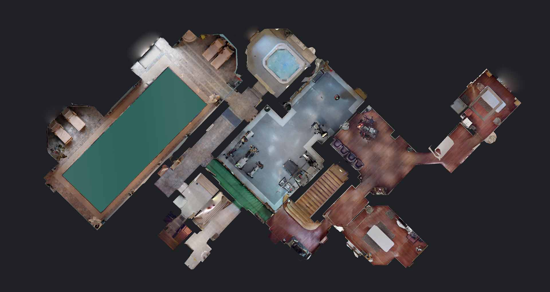 Strefa wellness w hotelu z basenem siłownią Bursztynowy Pałac